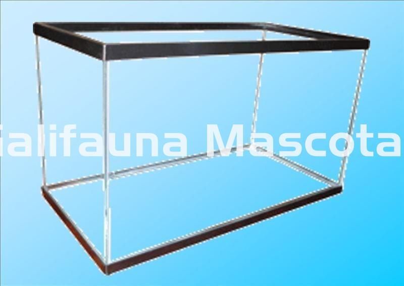 Acuario Urna De Cristal Con Marco Varias Medidas