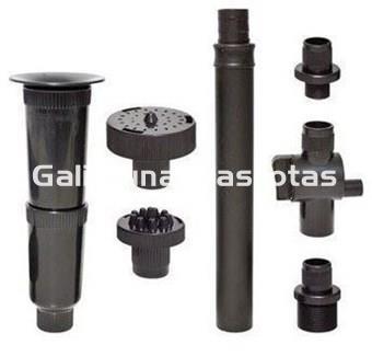 Boquillas Para Bomba De Agua De Estanque 3 Fuentes Y