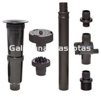 Boquillas para bomba de agua de estanque 3 fuentes y for Bombas de agua para estanques de peces