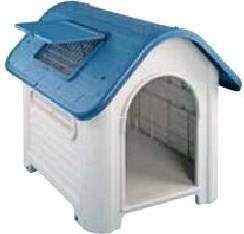 Caseta de resina para perro 87 x 72 x 75 con trampilla - Caseta perro resina ...