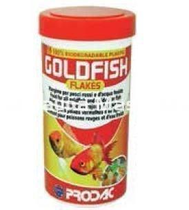 Godfish flakes comida en escamas para todos los peces de for Alimentacion para peces de agua fria