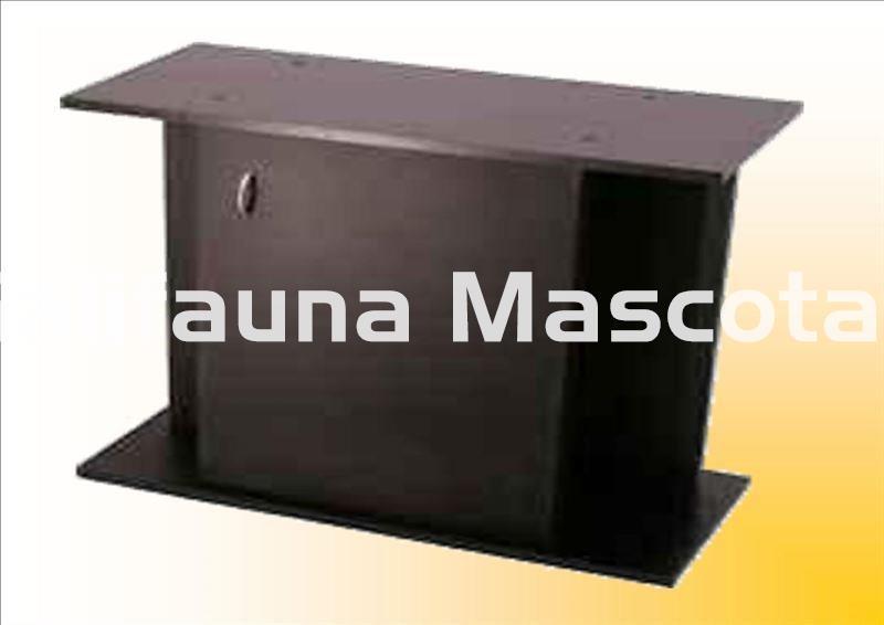 Mesa de acuario 100 x 40 cm 100 200 litros aprox con for Acuario 90 litros