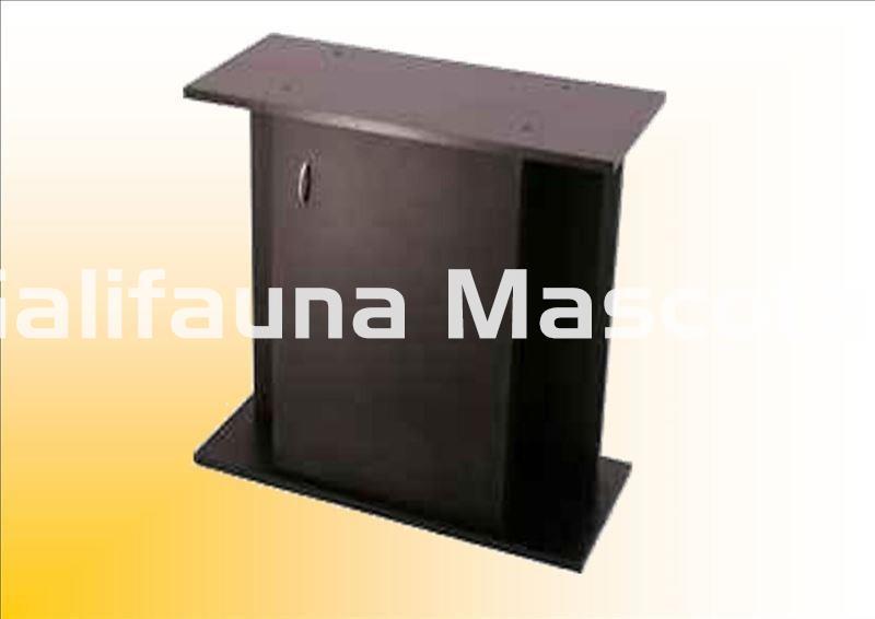 Mesa de acuario 60 x 30 cm 45 70 litros aprox con puerta for Mueble 70 x 40