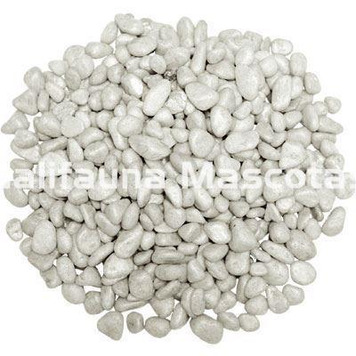 Mini grava blanca en bolsa de 2 kg de 1 5 mm de expesor - Precio grava blanca ...