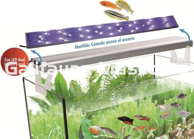 Pantalla De Led Eco Sirius De 120 Cm Luz Azul Y Blanca Ideal Para Acuarios De 240 300 Litros Galifauna Compra Inteligente