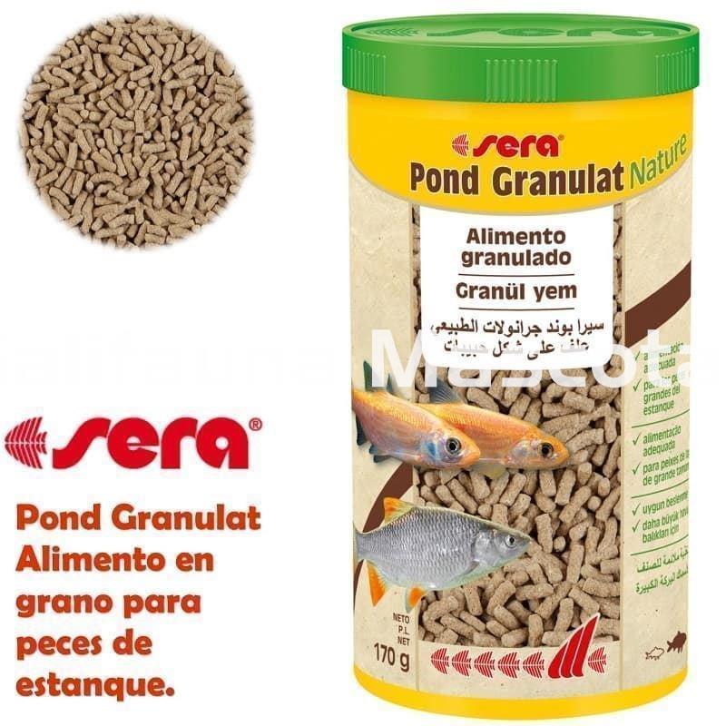 Sera pond granulat varias medidas alimento para peces for Comida para peces de estanque