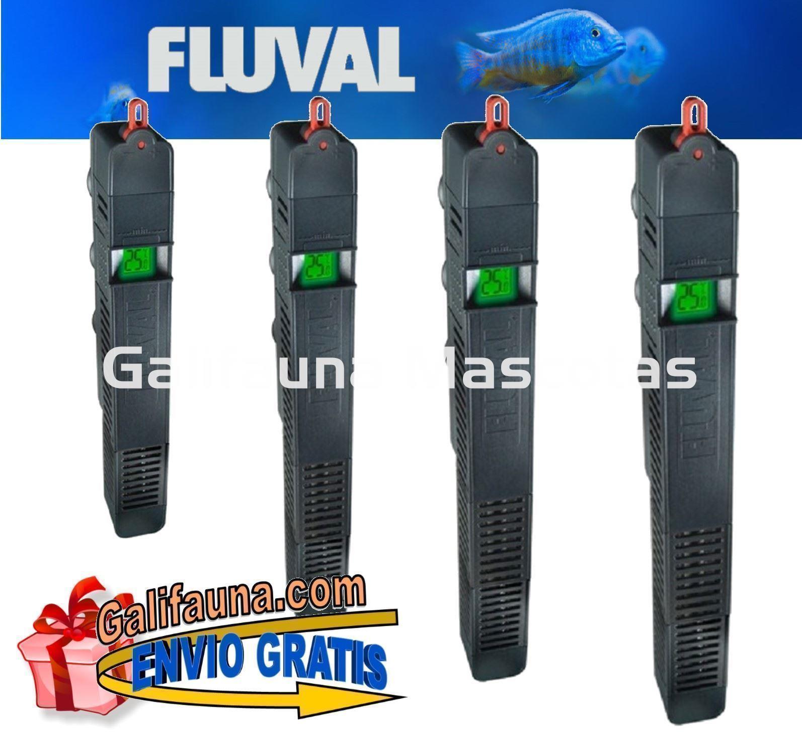 Artículos Para Animales Calentadores Y Enfriadores Fluval Calentador ElectrÓnico M 200w Acuario Agua Dulce Y Marino