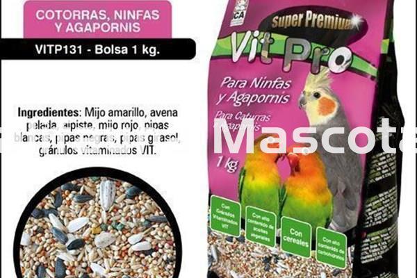 ICA Vit Pro Super Premium NINFAS Y AGAPORNIS
